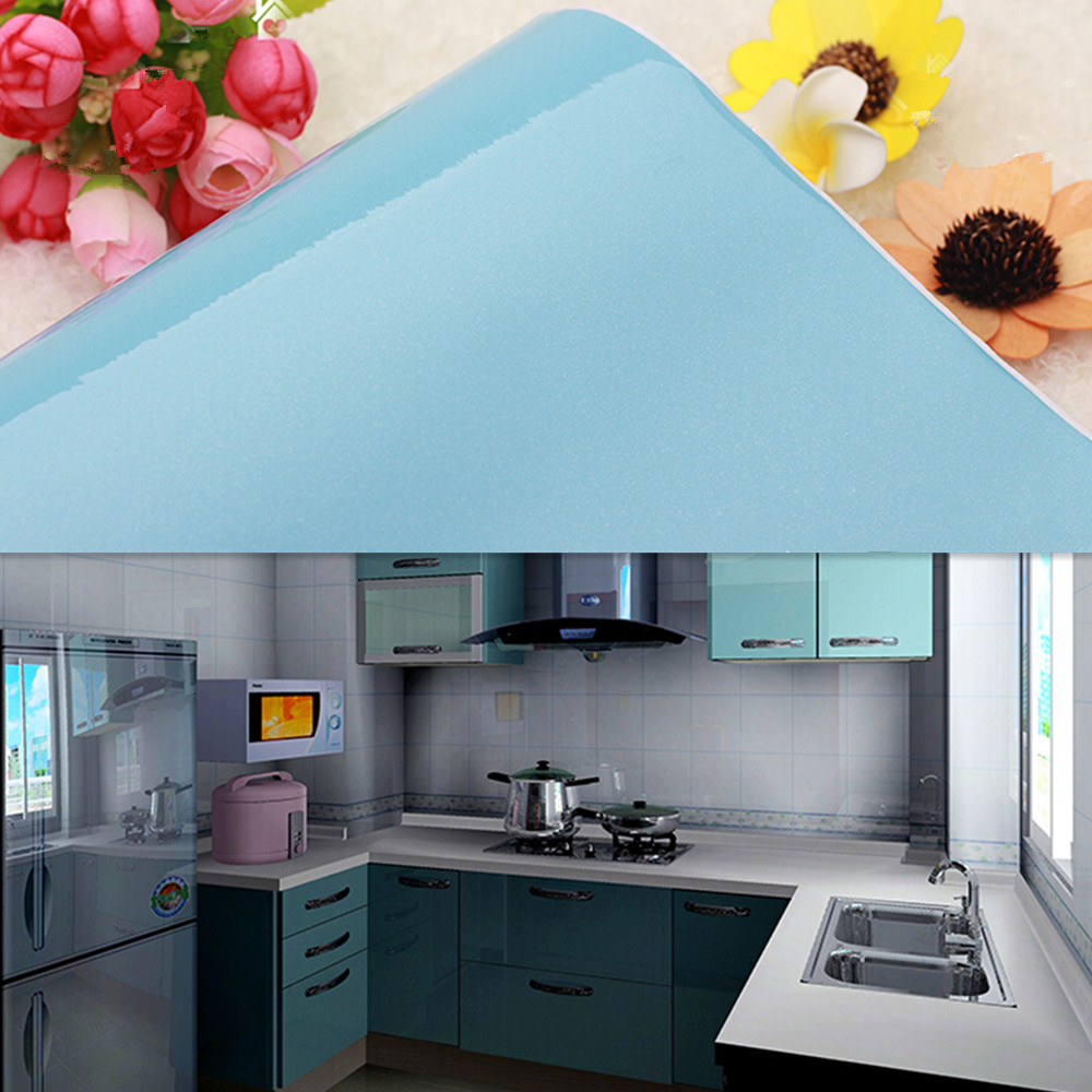 Vinyl Gloss Self Adhesive Contact Paper Kitchen Wallpaper Roll ...